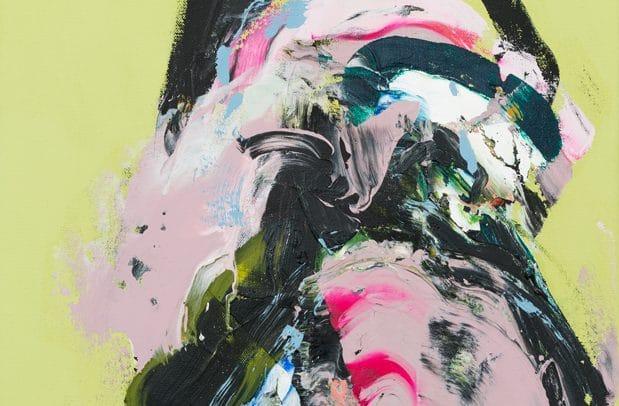 Eric Haacht delphian gallery London abstract painting