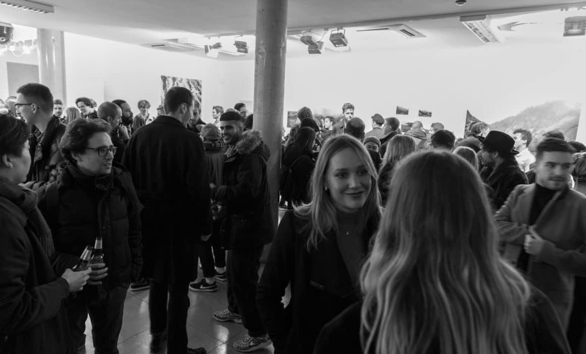 opening night Carson Lancaster lost coast delphian gallery London