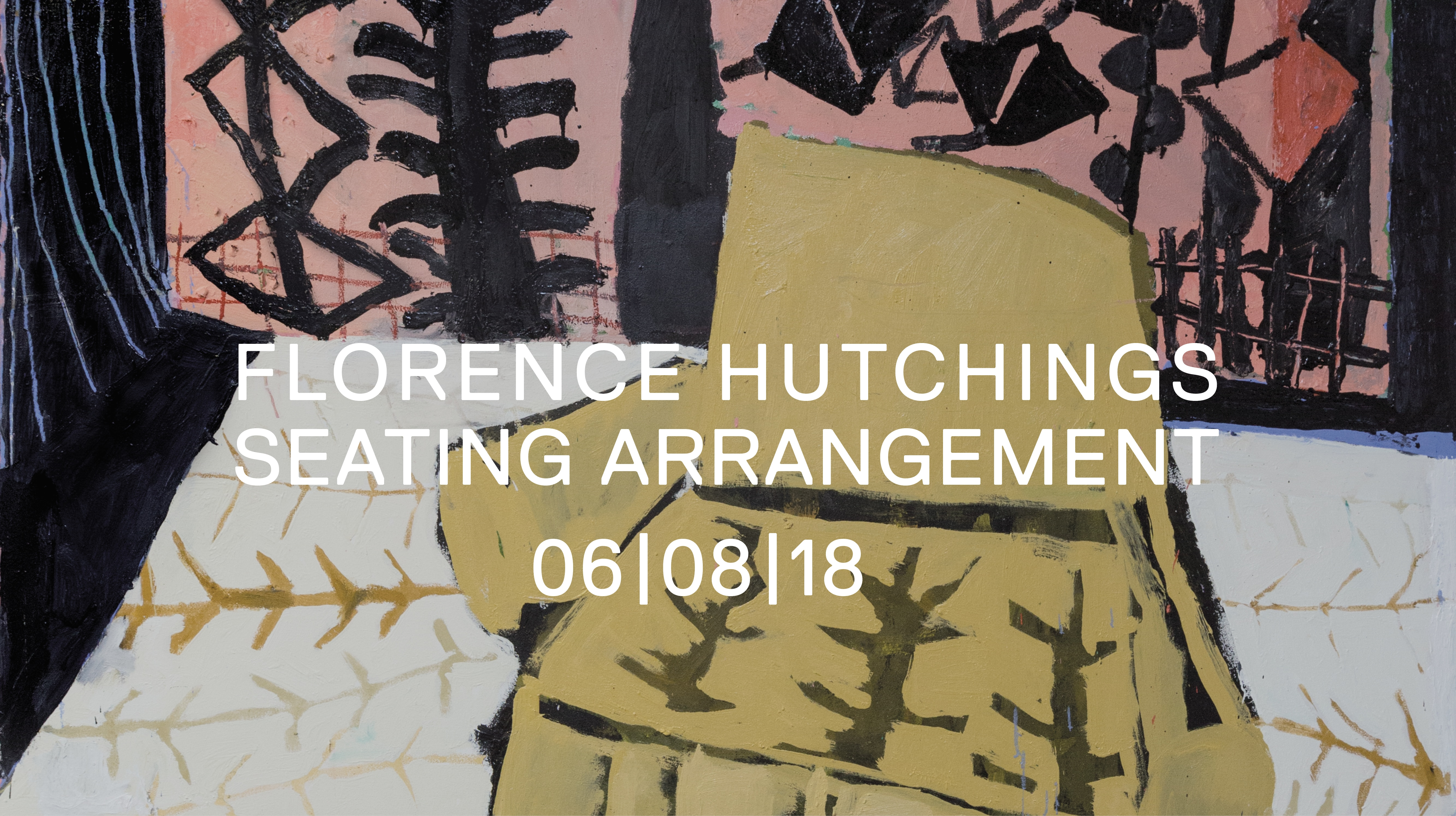 florence hutchings painting exhibition at delphian gallery seating arrangement