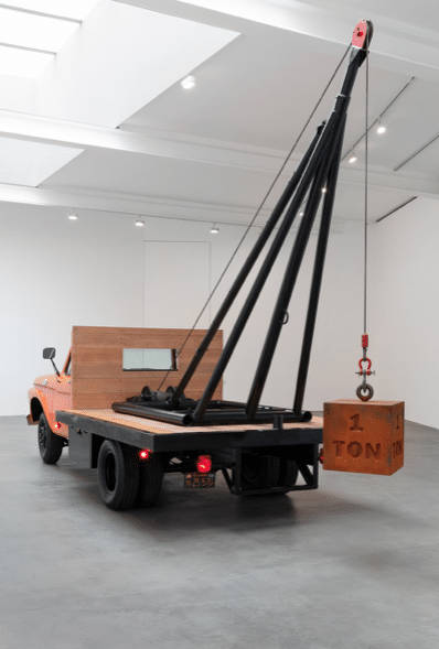 Measured - Chris Burden -Gagosian