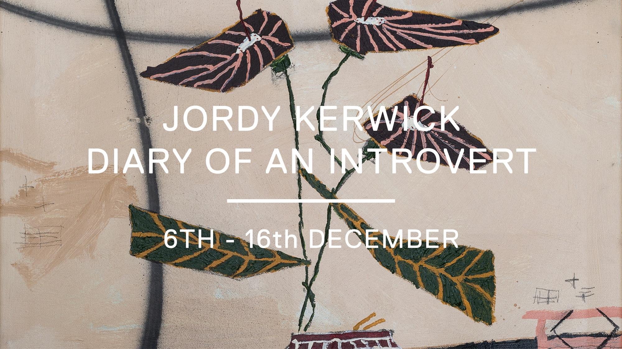 diary of an introvert - jordy kerwick