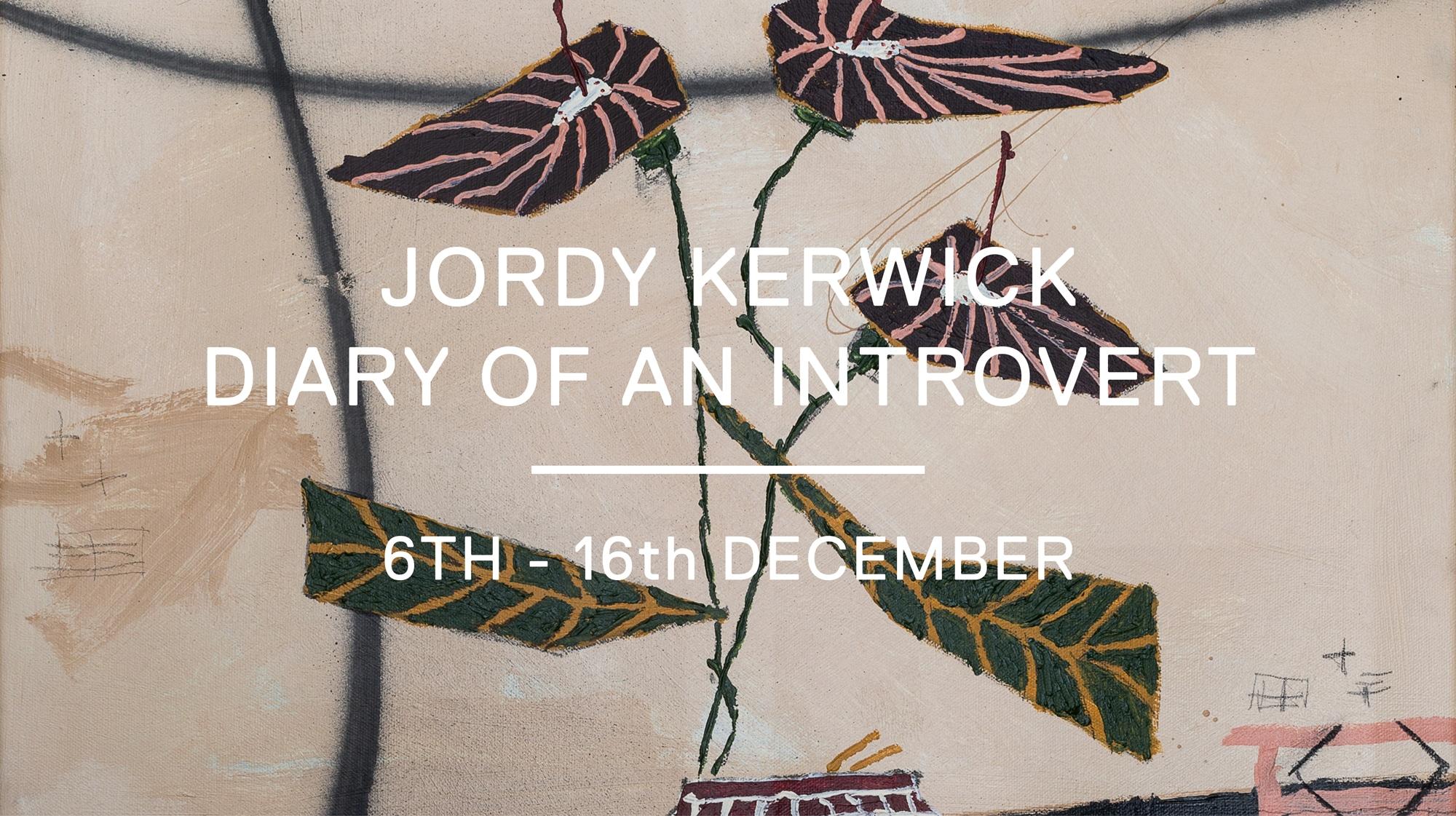 diary of an introvert - jordy kerwick