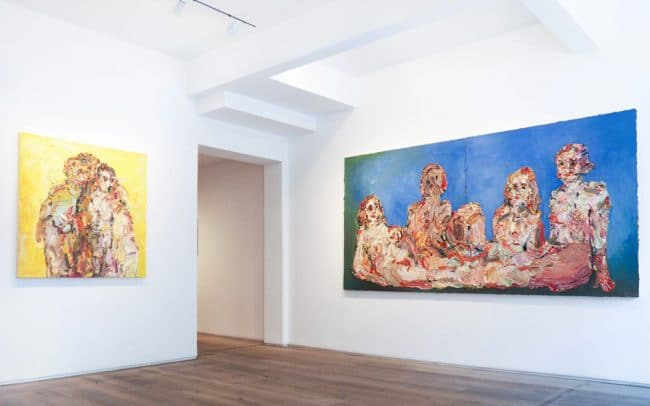 Installation photograph from Kristin Hjellegjerde Gallery