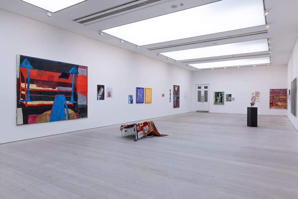 Saatchi Gallery - antisocial isolation